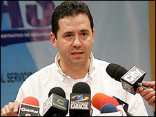 Felipe Munoz Gomez, director of Colombia's secret police, the Das (image: Das press service)