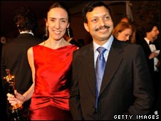 Director Megan Mylan and Dr Subodh Kumar Singh