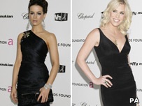 Kate Beckinsale and Natasha Bedingfield