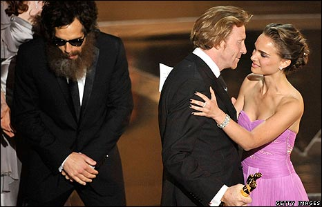 Ben Stiller, Natalie Portman and Cinematographer Anthony Dod Mantle