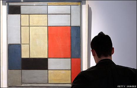 Piet Mondrian's Composition I