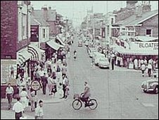 A nostalgic Yarmouth street scene