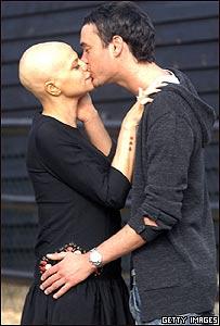 Jade Goody y su prometido Jack Tweed