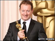 Bournemouth graduate Simon Beaufoy won the oscar for the best adapted screenplay