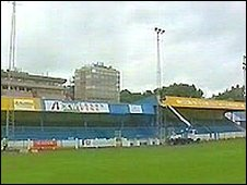 Bangor City's current Farrar Road home