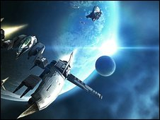Screenshot from Eve Online, Atari