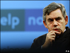 Gordon Brown in Southampton