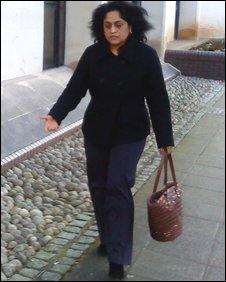 Shashi Bacheta at Swansea Crown Court