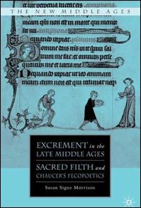 Portada de Excremento a finales de la Edad Media