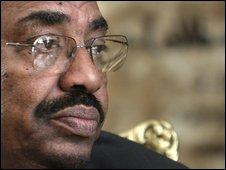 President Omar al-Bashir (22/02/2009)