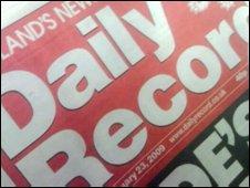 Daily Record masthead