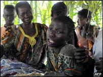 Desplazados congoleses
