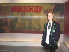 School Reporter Natalie from Lenzie Academy in East Dunbartonshire