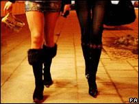 Ноги проституток