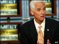 El gobernador de la Florida, Charlie Crist