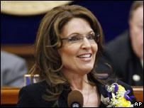 Sarah Palin, gobernadora de Alaska