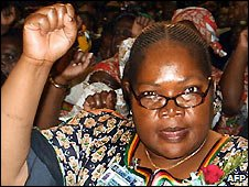 Joyce Mujuru - 2004 file photo