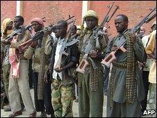 Islamist militia opposed to new Somali President Sheikh Sharif Sheikh Ahmed
