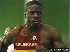 Dwain Chambers set a personal 60m best of 6.51 seconds in the trials in Sheffield earlier in February