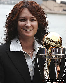 Karen Rolton wants to keep the trophy in Australia