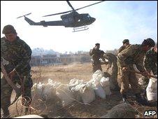 Pakistan troops in Swat