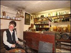 Victorian pub at Shambles museum