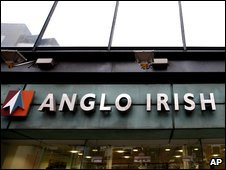 Anglo Irish Bank branch