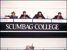 The Young Ones enter University Challenge