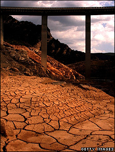Dried out river bed (Getty Images)
