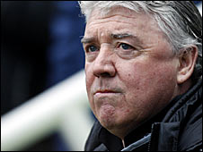 Newcastle manager Joe Kinnear
