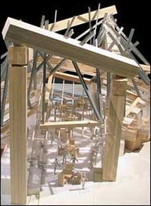 Artist's impression of pavilion