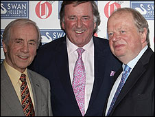 Andrew Sachs, Sir Terry Wogan and John Sergeant