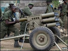 Congolese forces in action