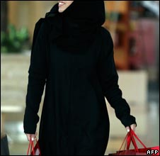 Saudi shopper