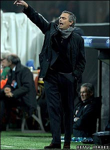 Inter boss Jose Mourinho