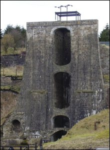 Blaenavon Ironworks balance tower