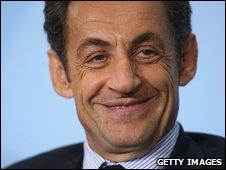 Nicolas Sarkozy (file image)