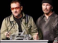 Bono and he Edge