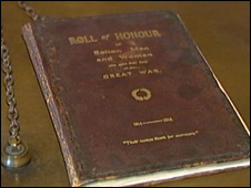 Bolton Council Roll of Honour