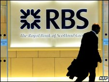 The London headquarters of RBS
