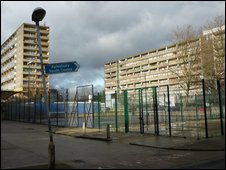 The Aylesbury estate, South London
