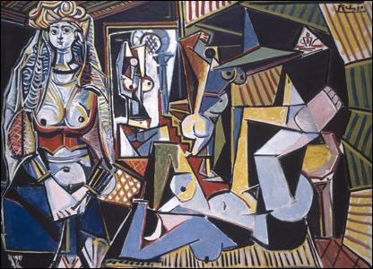 Picasso inspirado en Delacroix.