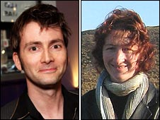 David Tennant and impostor Lisa Valentine