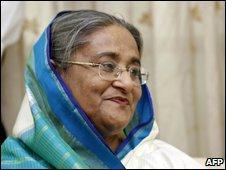 Sheikh Hasina 30 Dec 2008
