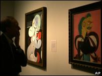 La exposición de Piccasso en el National Gallery.