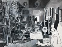 """La serie de las """"Meninas"""" de Picasso inspirado en Vel�zquez."""