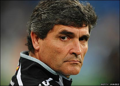 Real manager Juande Ramos