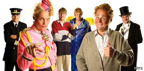 Characters from Al Murray's Multiple Personality Disorder