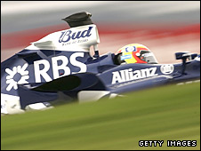 A Williams Formula One car