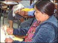 Clase en la Universidad San Carlos de Guatemala
